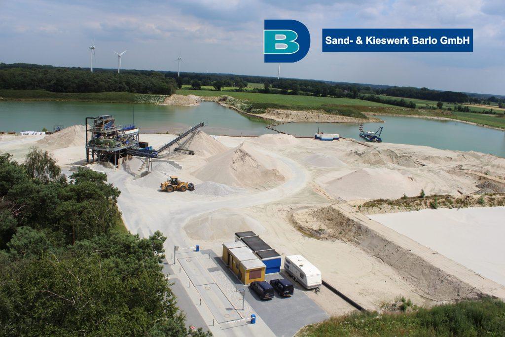 Hoftijzer Verhuur- en Aannemingsbedrijf BV, Sand- & Kieswerk Barlo, Duitsland, zand, zandwinning, zandzuiger